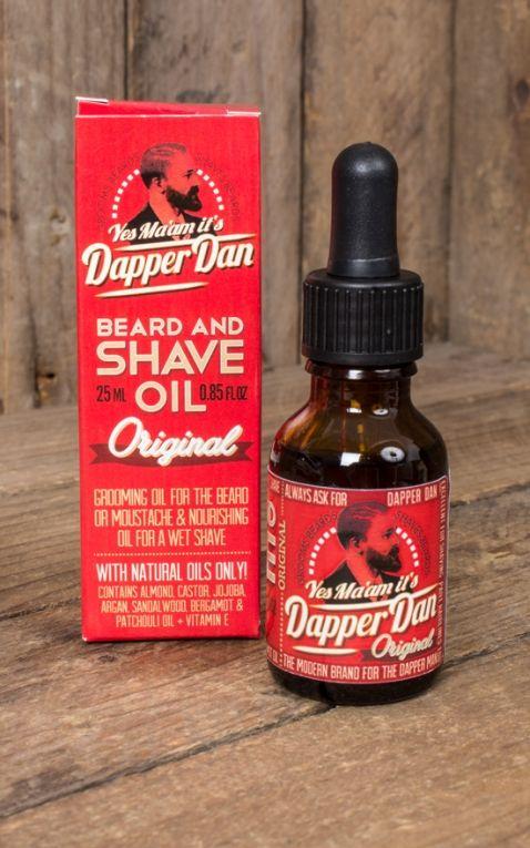 Dapper Dan - Beard and Shave Oil, 25ml