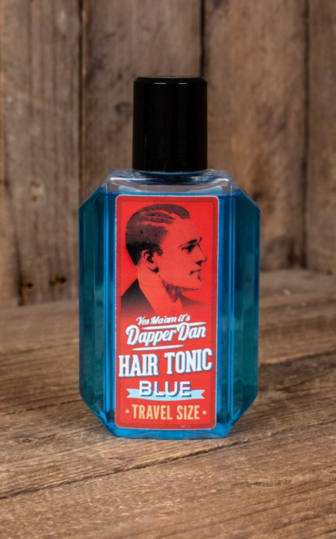 Dapper Dan - Tonique Capillaire, bleu Travel Size