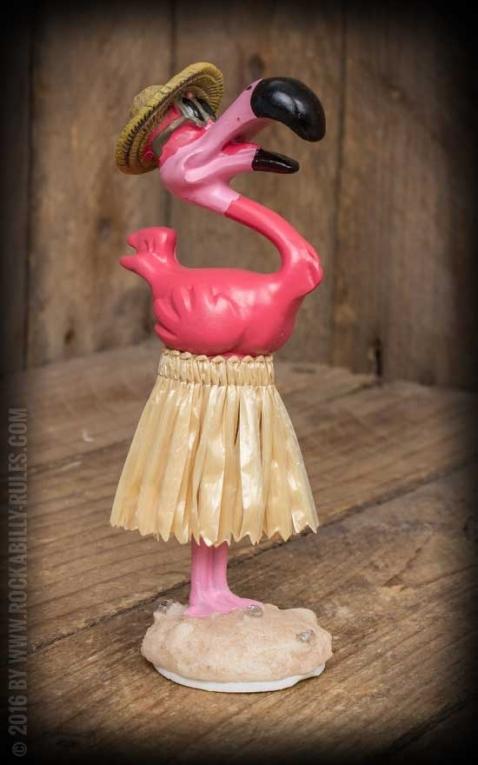 Dashboard Hula Flamingo