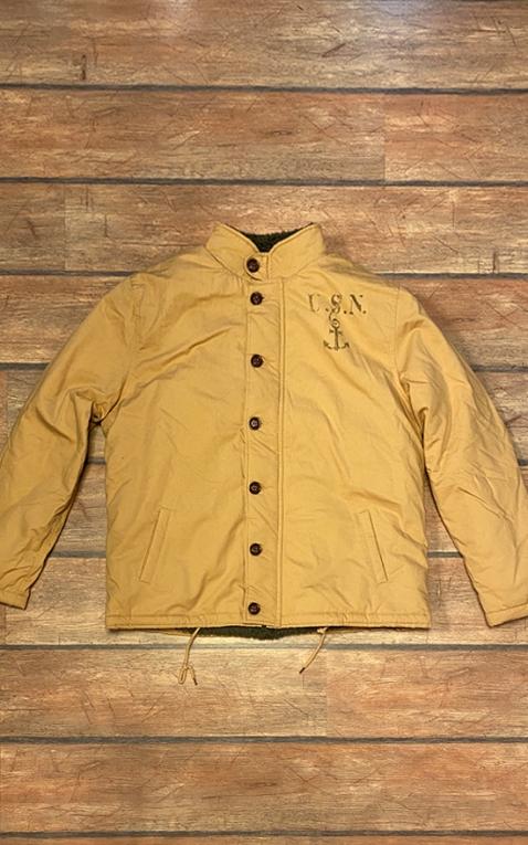 Letzte Chance - Rumble59 - Deck Jacket - beige III