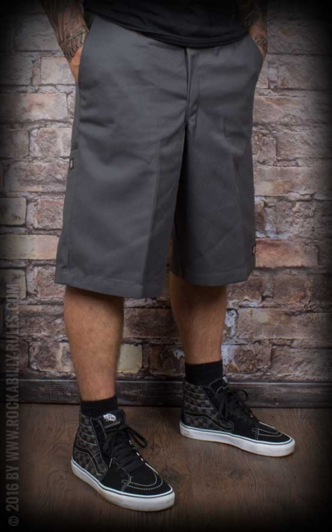 Dickies 13In Multi-Pocket Work Short Loose Fit, charcoal