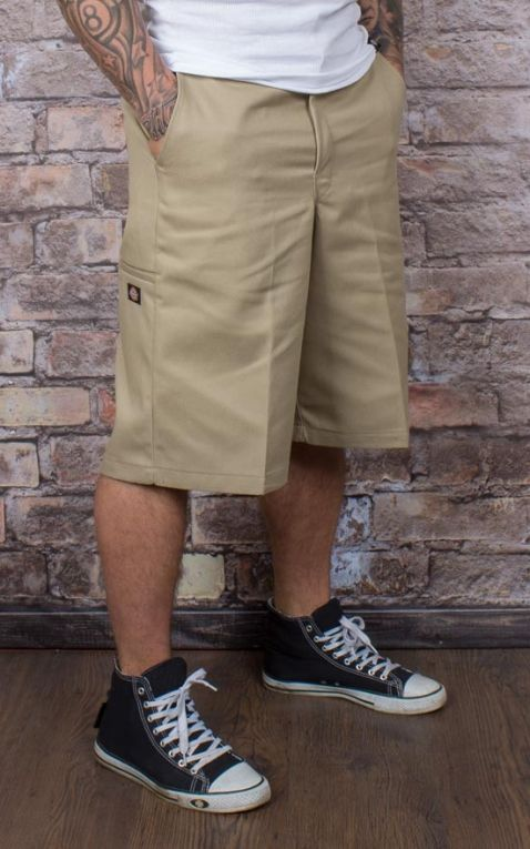 Dickies 13In Multi-Pocket Work Short Loose Fit, khaki