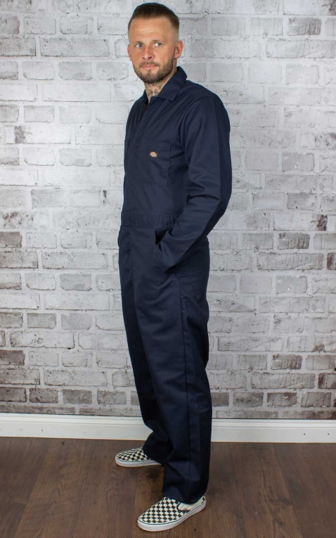 Dickies Basic Blended Coverall, dark navy