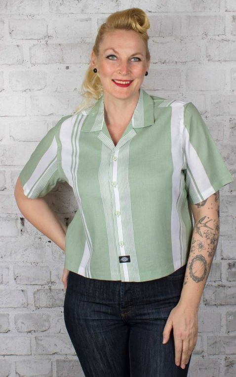 Dickies - Damen Cropped Shirt Senola