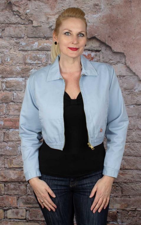Dickies Women Worker Jacket Kiester, Fog Blue