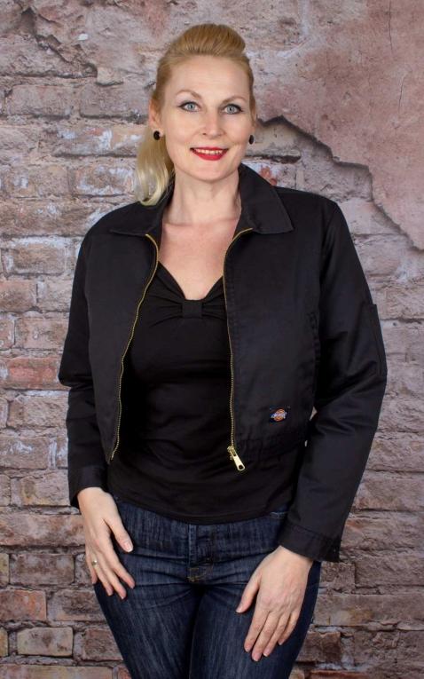 Dickies Women Worker Jacket Kiester, black