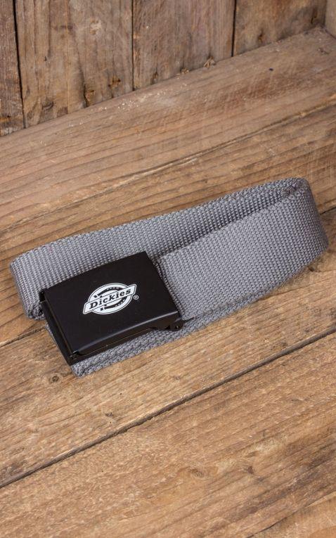Dickies - belt Orcutt, charcoal grey