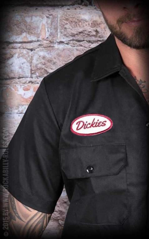 Dickies - Hemd Rotonda South, schwarz