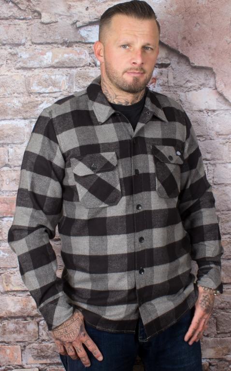 Dickies - Shirt Sacramento, grey melange