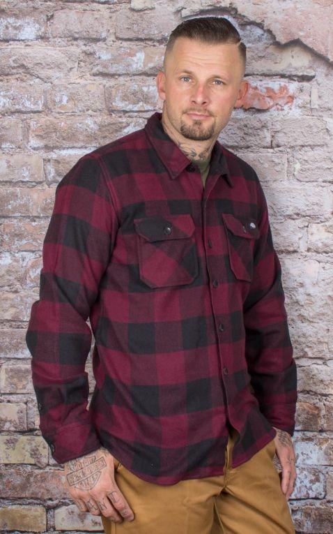 Dickies - Shirt Sacramento, maroon