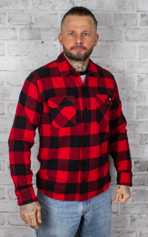 Dickies - Shirt Sacramento, red