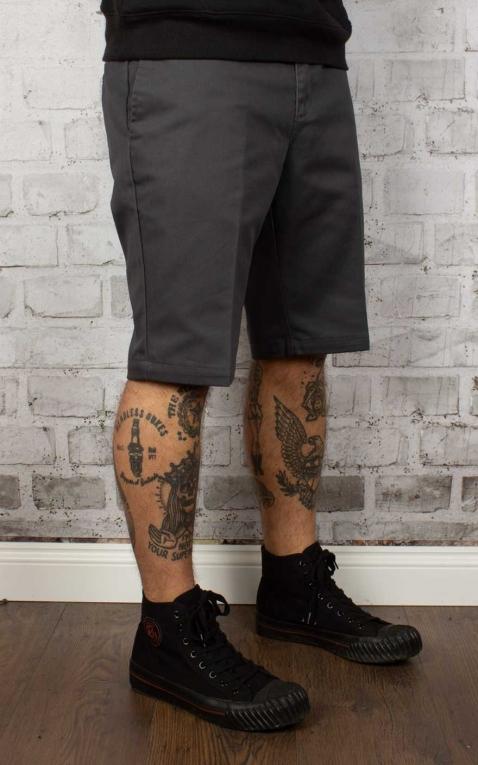 Dickies - Slim Fit Short, charcoal grey