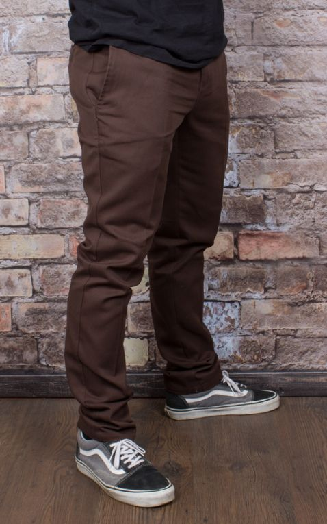Dickies - Original 872 Slim Fit Work Pant, chocolate brown