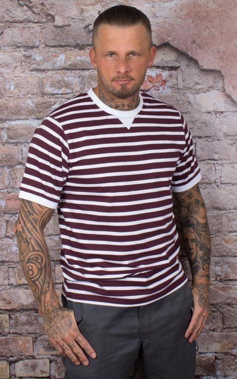 Dickies - T-Shirt Anton, maroon