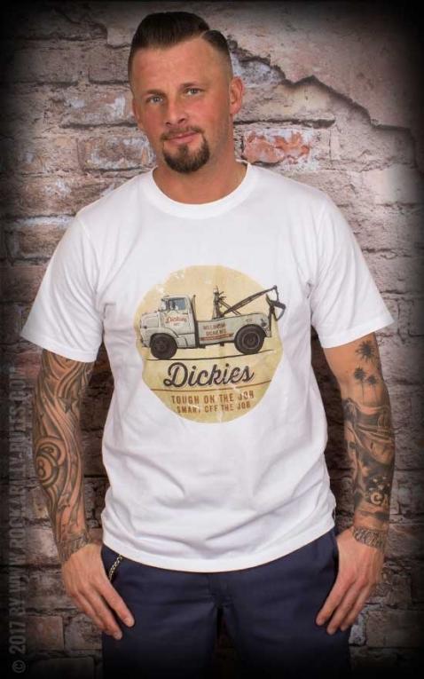 Dickies - T-Shirt Russellville, weiß