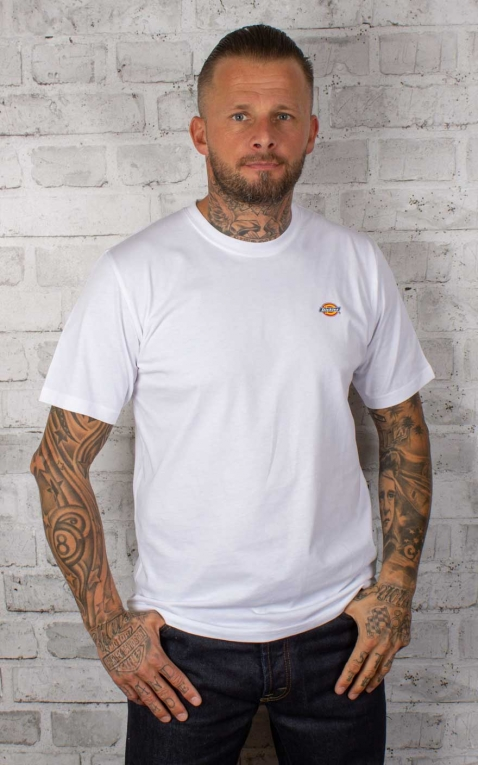 Dickies - T-Shirt Stockdale, blanch