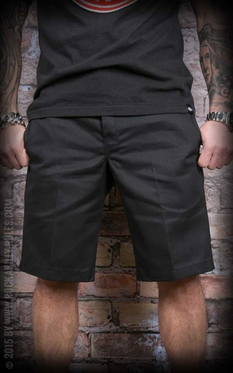 Dickies 11In Slim Straight Work Short, schwarz
