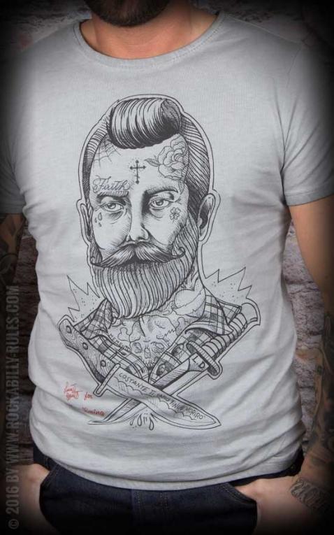 Donkey Swing - Vintage T-Shirt Rockabilly Man