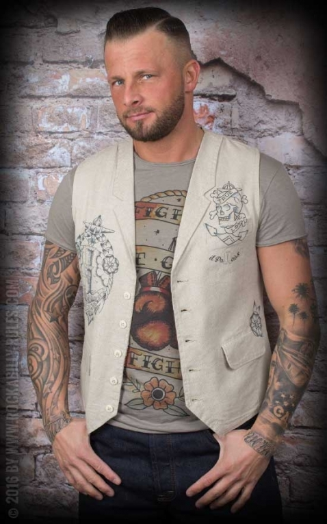 Donkey Swing - Vintage Vest Tattoo