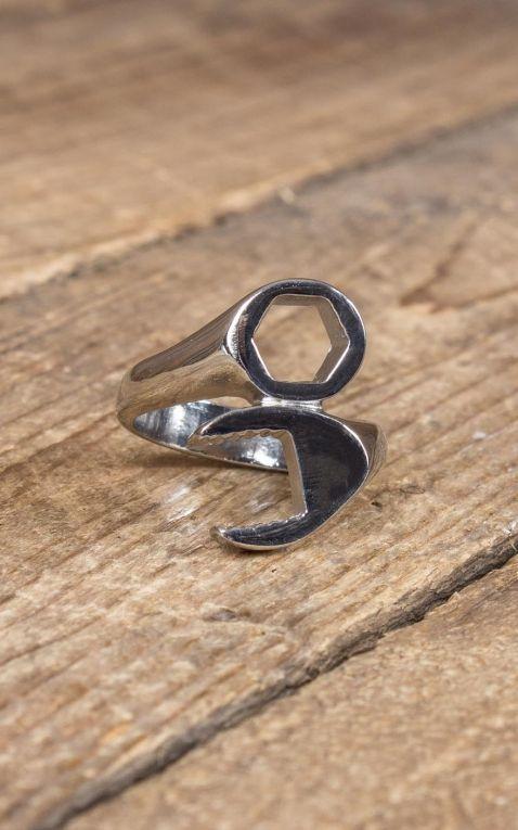 Edelstahl Ring - Schraubenschlüssel | Wild Wrench