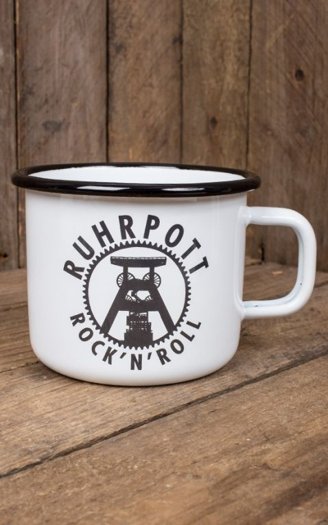 Rumble59 Enamel Mug - Ruhrpott Rock n Roll