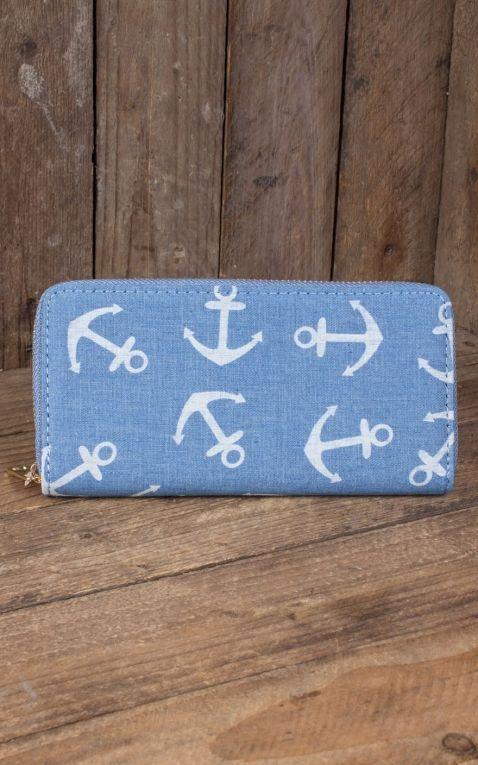 Wallet Anchor, light blue