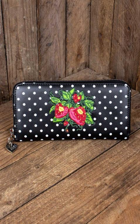 Banned Wallet Fragola Strawberry Polkadot