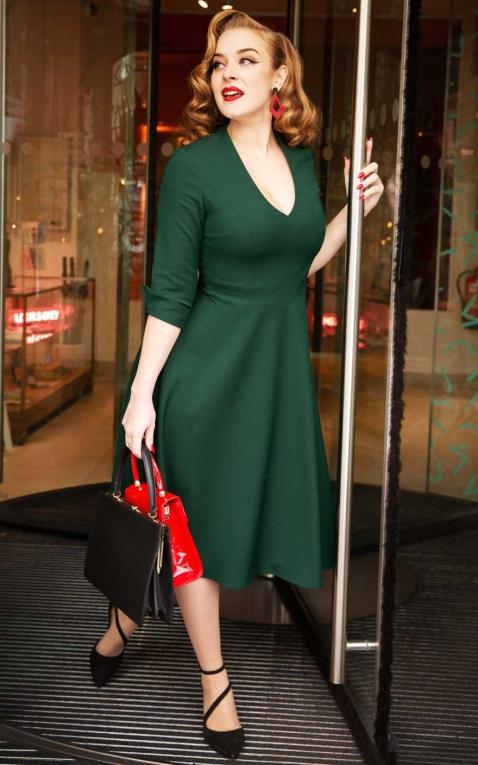 Glamour Bunny - Sacha Swing Dress