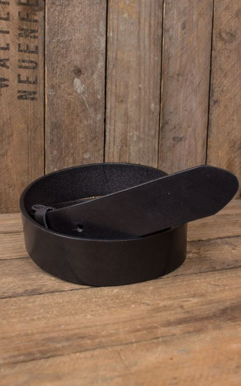 Leatherbelt black