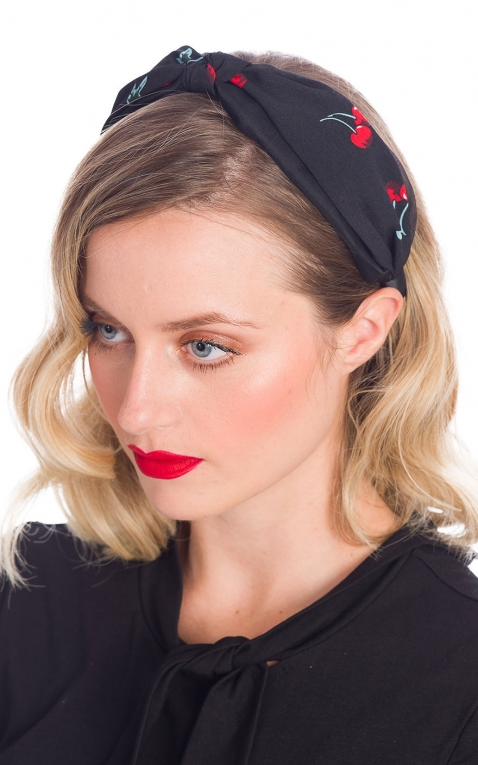 Banned Headband / Hairband Melissa Cherry, black