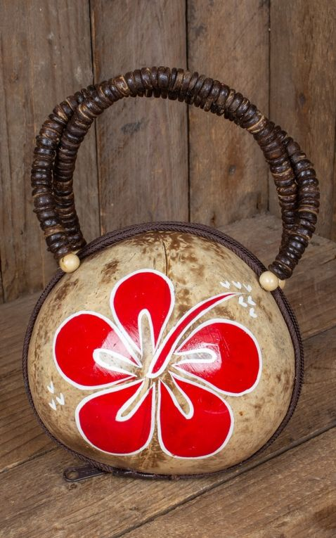 Pin Up Hawaii Handbag Coconut