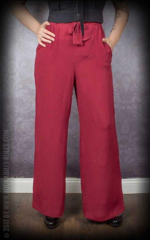 The Seamstress of Bloomsbury - Pantalons avec Ceinture Winnie