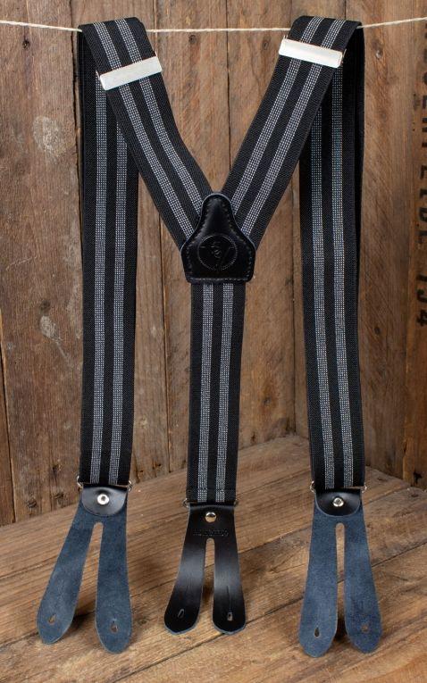 Rumble59 - Suspenders - Colour combination black