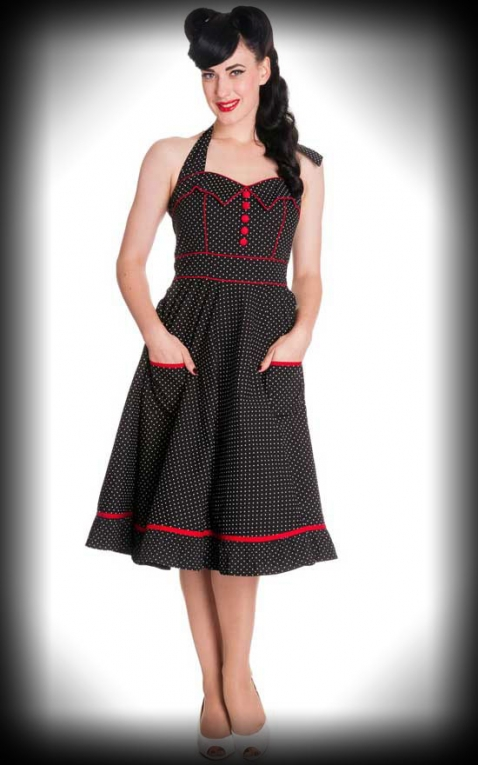 Vanity Polkadot Dress