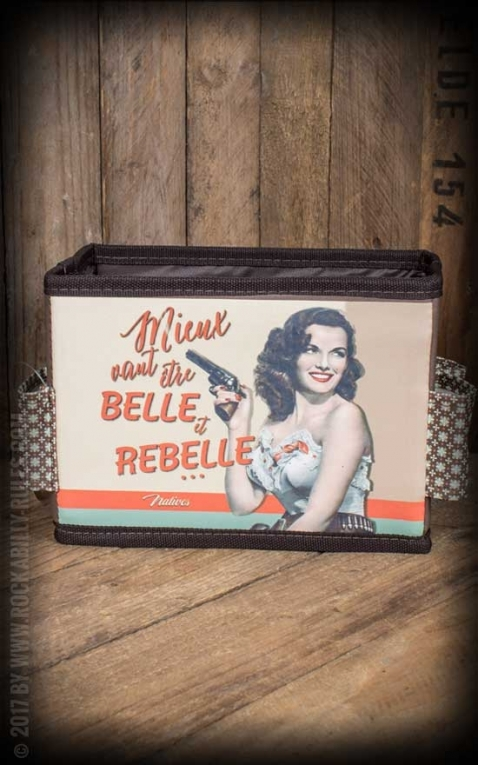 Cosmetic Bag - Belle et Rebelle