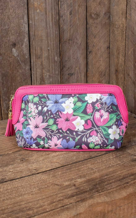 Cosmetic Bag Hibiscus Blossom