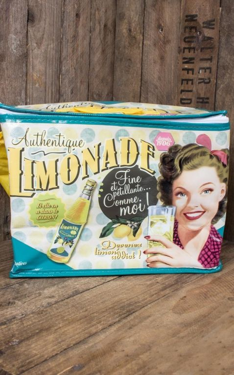 Single cooler bag Lemonade