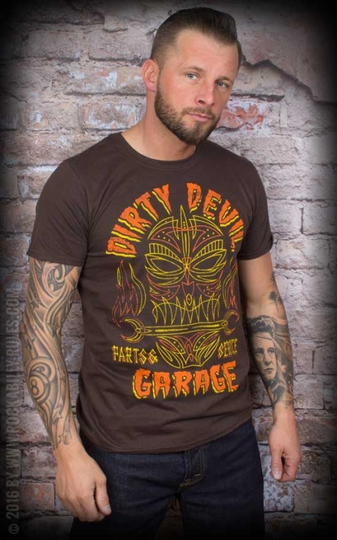 La Marca del Diablo T-Shirt - Dirty Devil