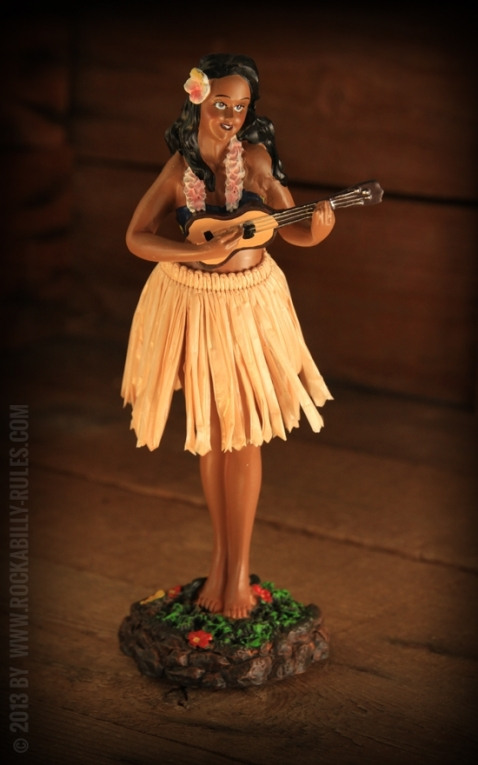 Leilani Ukulele - Natural Skirt