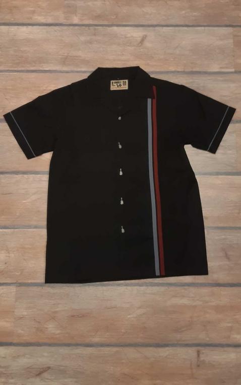 Letzte Chance - Rumble59 - Lounge Shirt - Man in Black