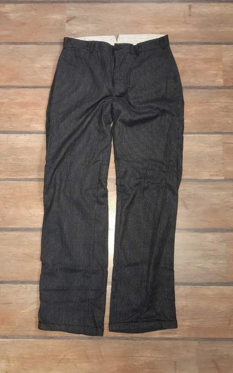 Letzte Chance - Rumble59 - Vintage Loose Fit Pants Sacramento - gestreift