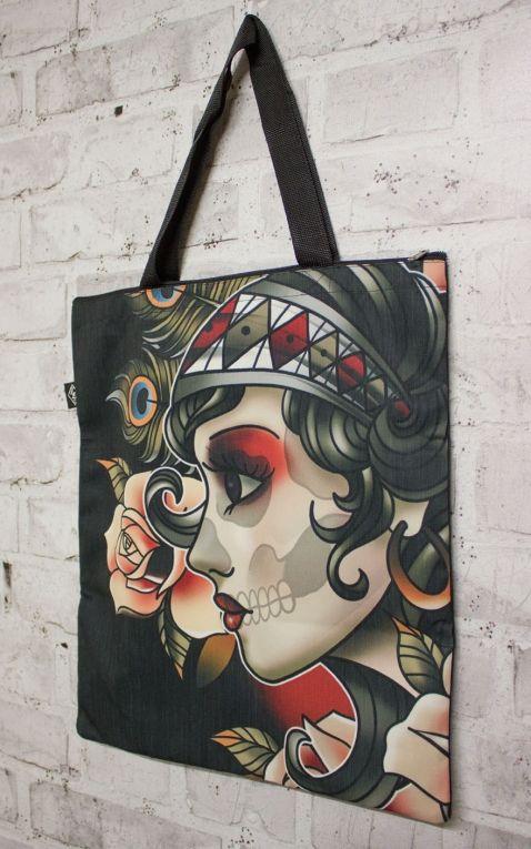 Liquorbrand Cotton Bag Gypsy Roses