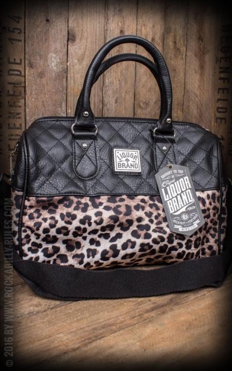 Liquor Brand - Handbag Leo Plush Deluxe