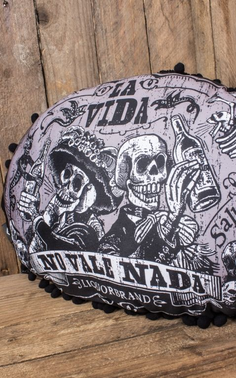 Liquor Brand - Pillow Viva La Vida