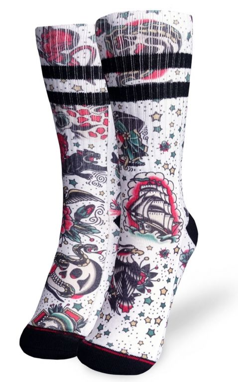 Liquorbrand Hi Tube Socks Americana