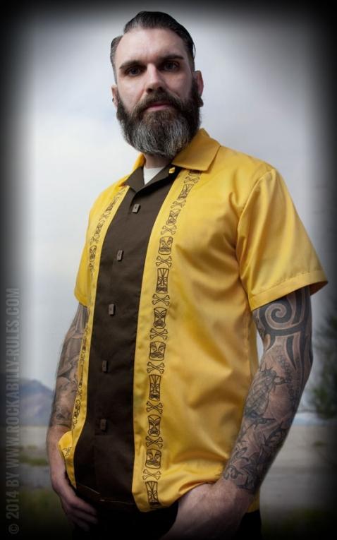 Rumble59 - Lounge Shirt - Mad Tiki