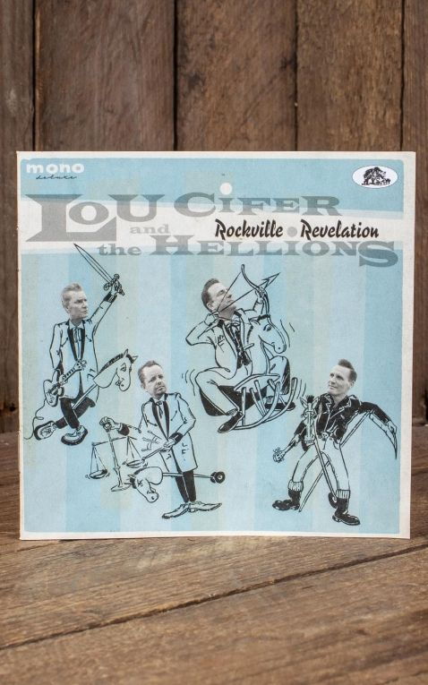 LP Lou Cifer and the Hellions - Rockville Revelation