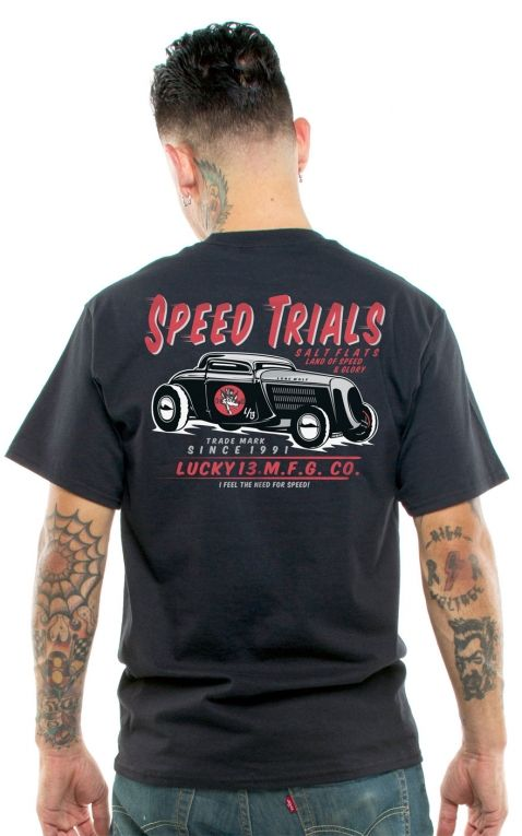 Lucky13 Männer T-Shirt - Speed Trials