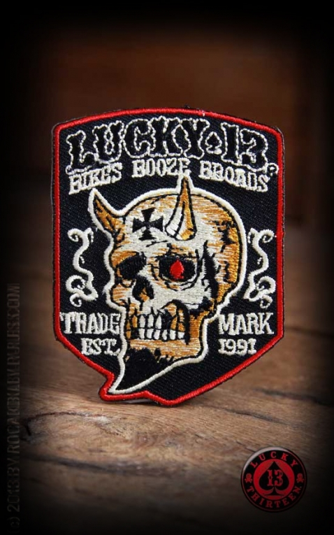 Lucky13 Patch Booze Bikes & Broads