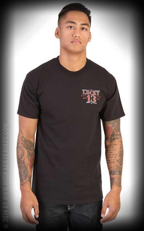 Lucky13 T-Shirt - Adrian